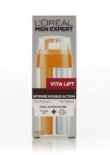 L Oreal Men Expert Vita Lift Intense Double Action Re Tautening Moisturiser 30ml By L Oreal Paris 15 10 Men S Skin Men Expert V L Oreal Paris L Oreal Paris