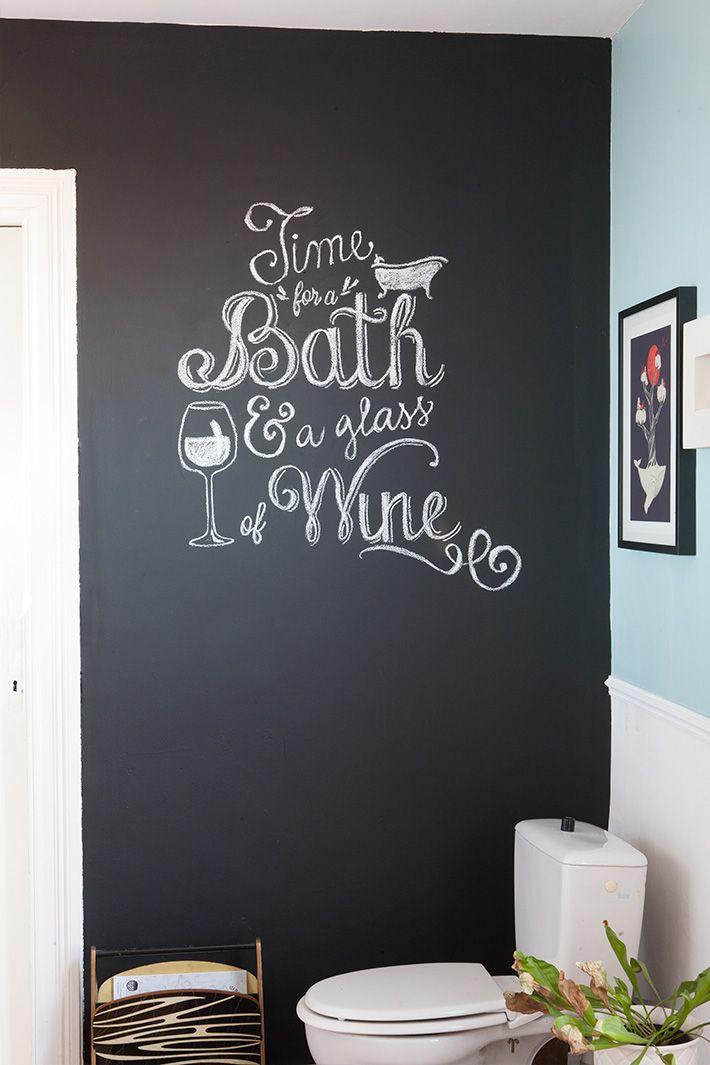 diy - Écrire sur un mur en ardoise comme les pros   le menu, menus