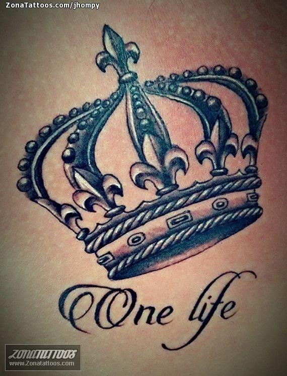 Tatuaje De Coronas Pinterest Tatoeage Tatoeage Ideeën En Tatoeages