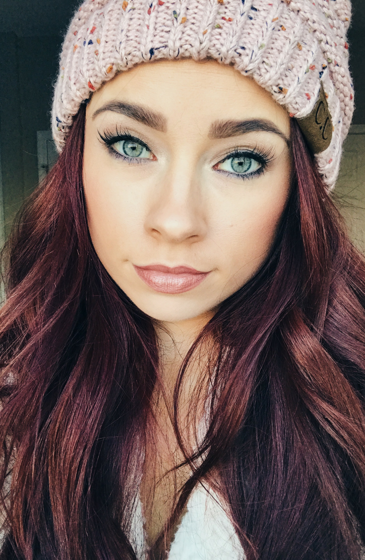 beauty inspiration || natural makeup || naked palette
