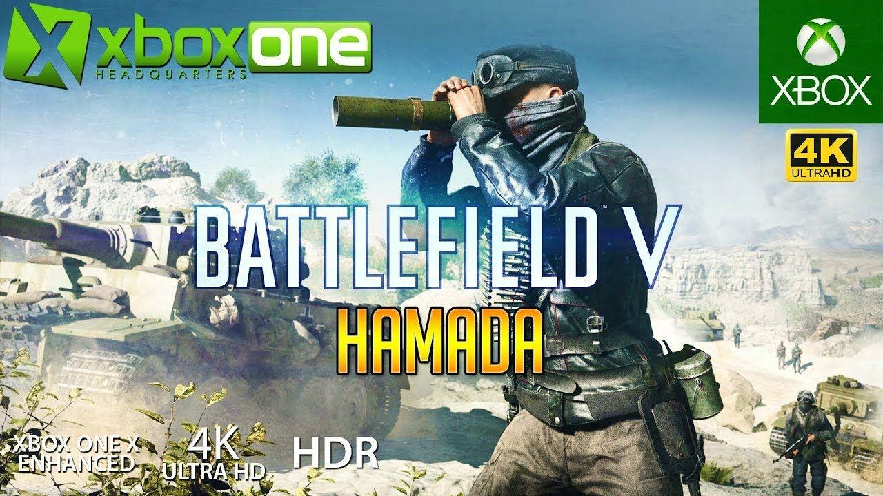 Xboxone 4k Battlefield 5 Bf5 Xbox One X Gameplay Hamada