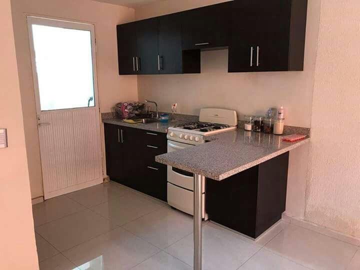 Pin de jessany zamorano lazcano en home cocinas cocinas for Barras para cocinas pequenas modernas