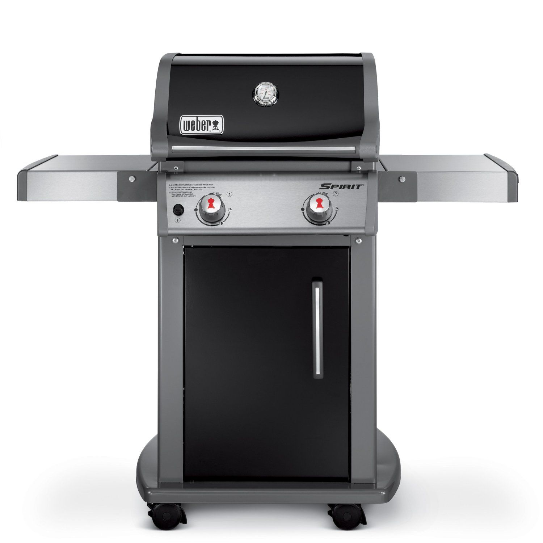 Weber 46110001 Spirit E210 Liquid Propane Gas Grill Black Freestanding Grills Patio Lawn Garden
