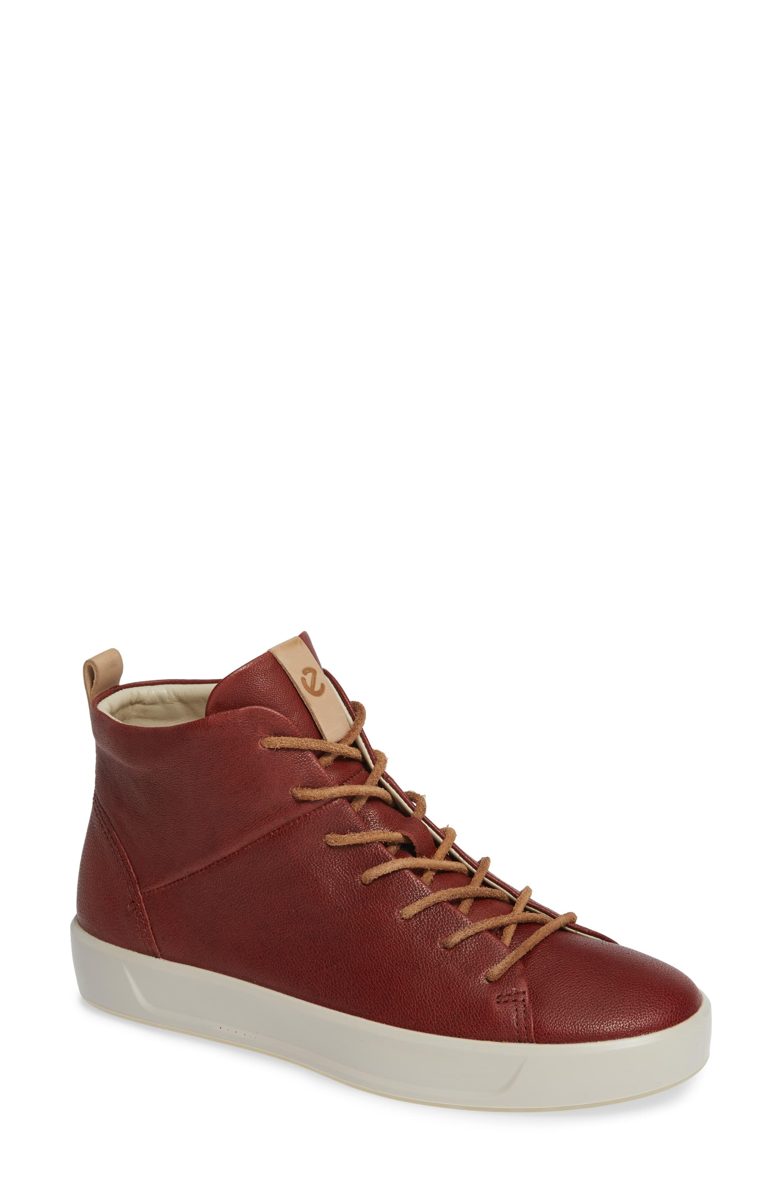ECCO Soft 8 High Top II Sneaker (Women   Sneakers, High tops