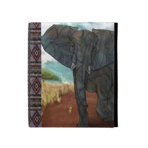 African Elephant iPad Caseable Case