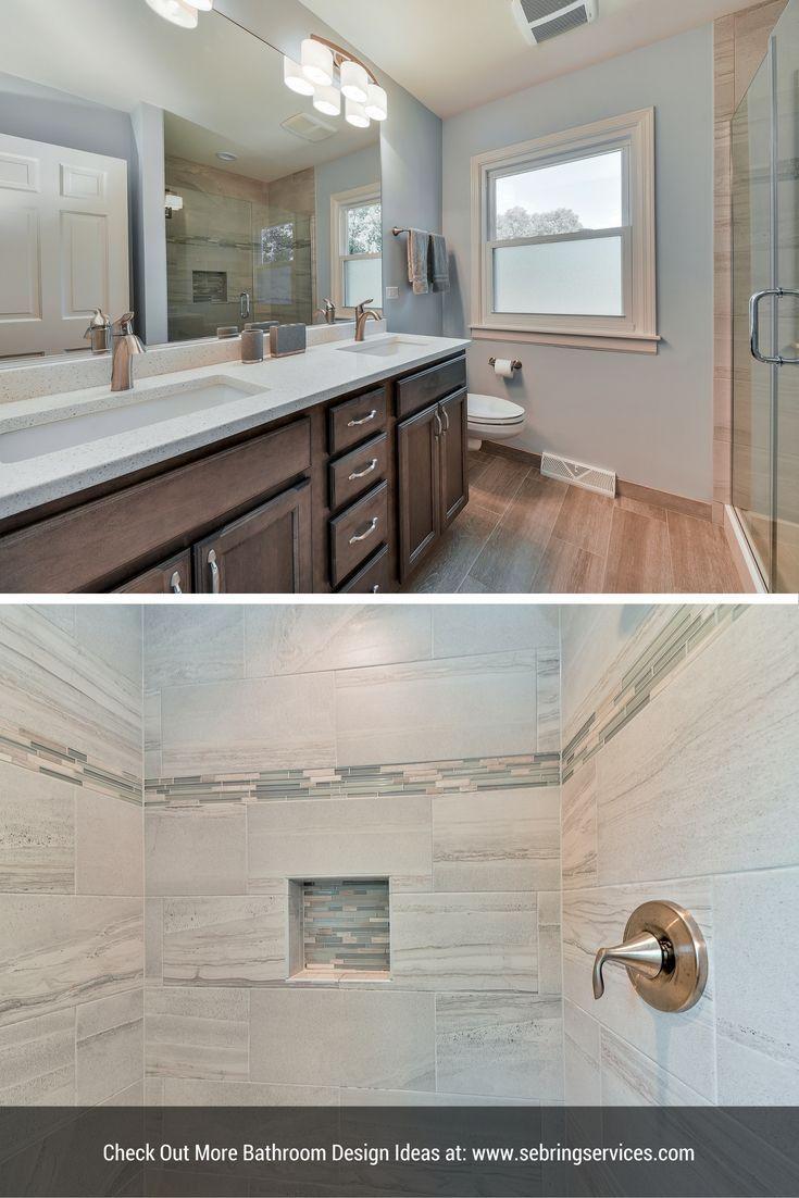 Brian & Karen's Master Bathroom Remodel Pictures  Bath Remodel Impressive Bathroom Remodeling Naperville Review