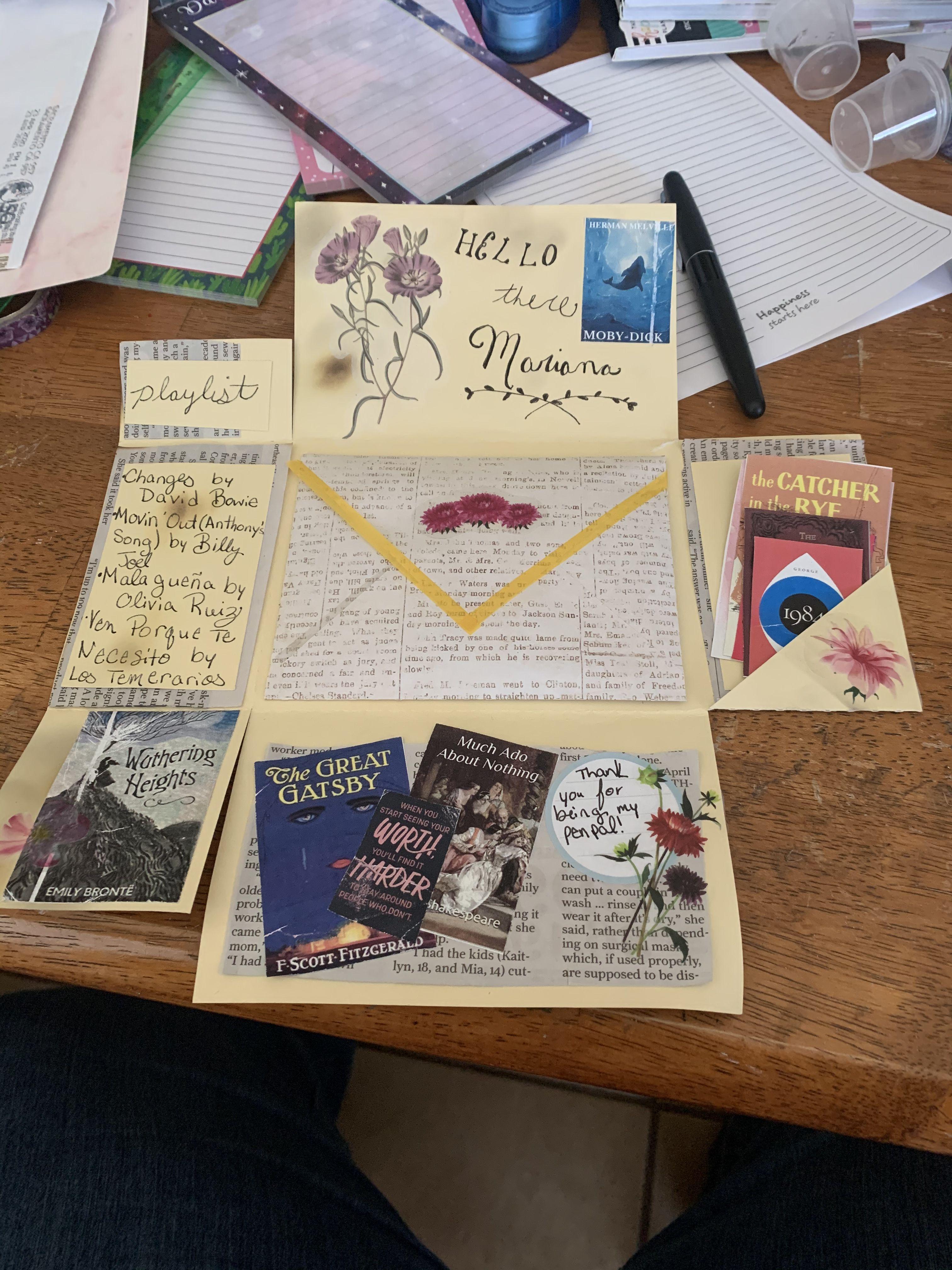 Classic Lit Letter Pen Pal Letters Snail Mail Pen Pals Lettering