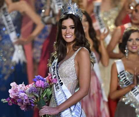 Colombia passion! miss universe 2015.
