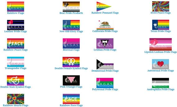 Pin On Different Types Of Rainbow Flags And Pride Flags To Choose