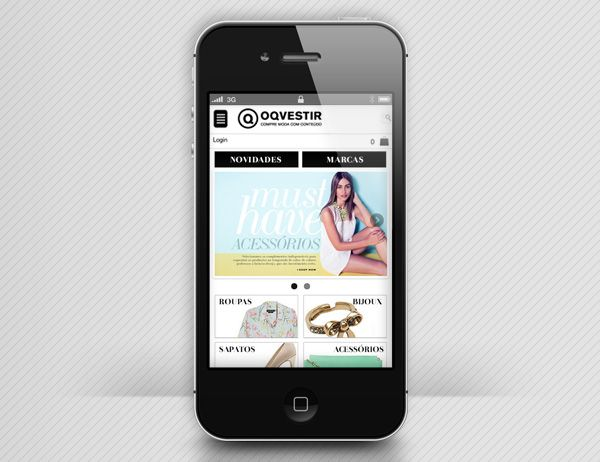 OQVESTIR | quadraCriativa  Site mobile home