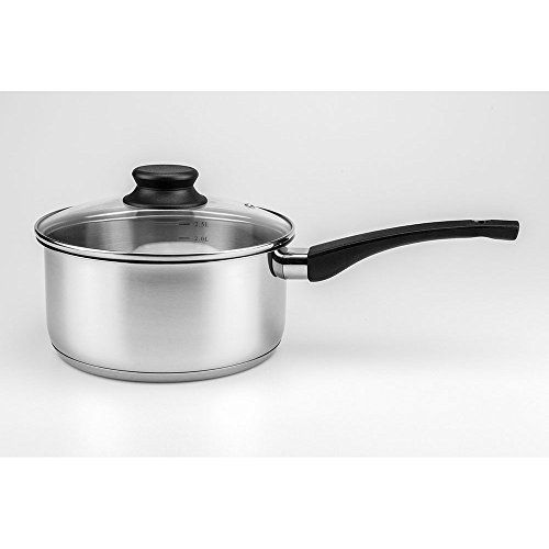 Maxware Classic Stainless Steel Covered Saucepan With