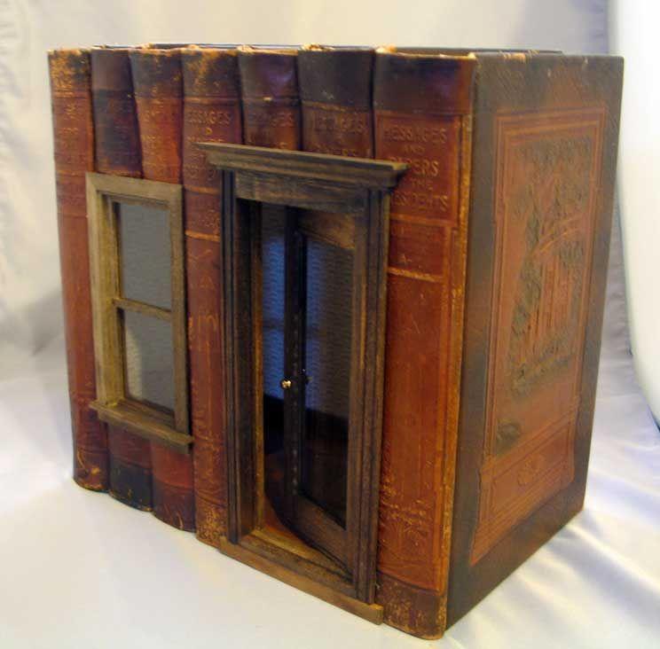 Altered Book Box Mini Room Night Light Emma Book
