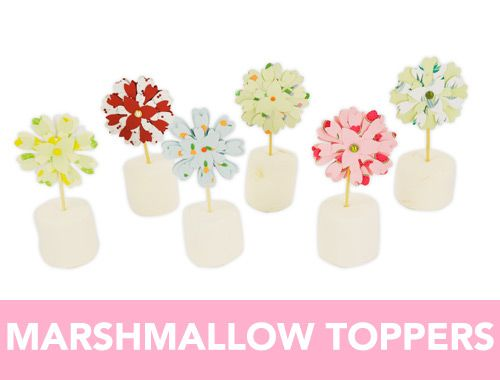 Marshmallow Toppers