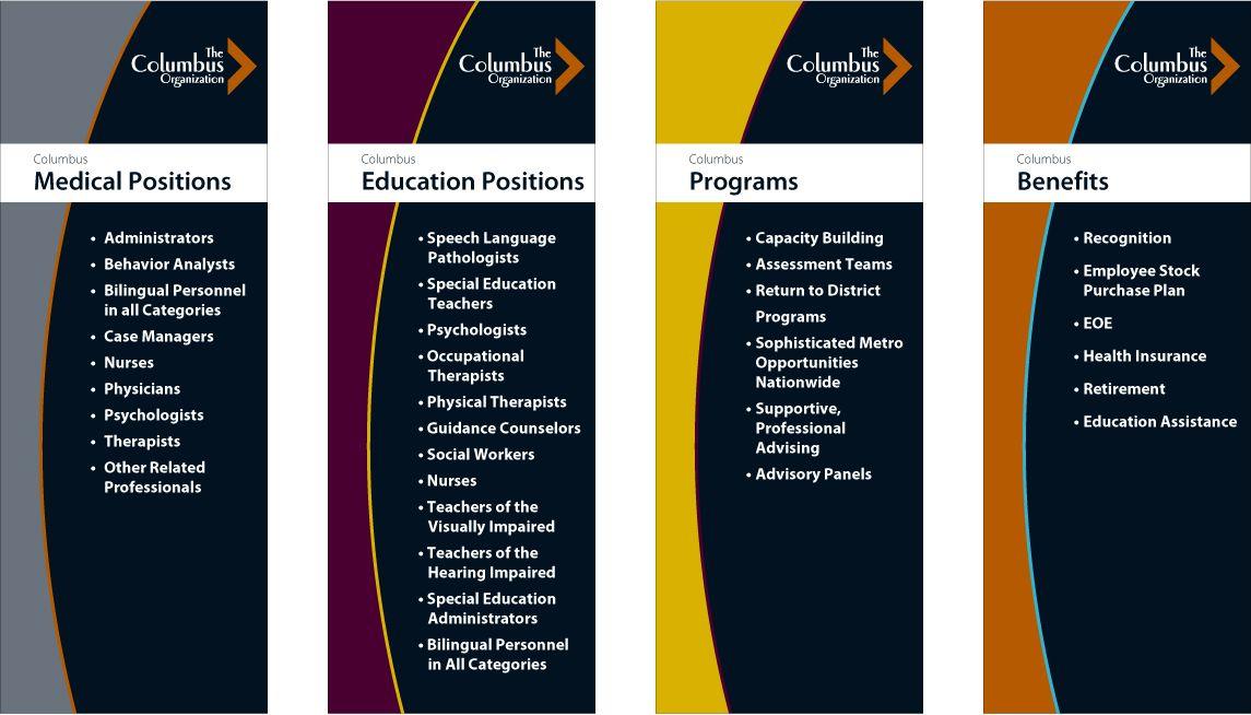 The Columbus Organization Public education, Speech