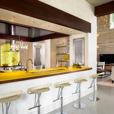 40 diseños de modernas islas de cocina, ideas con fotos