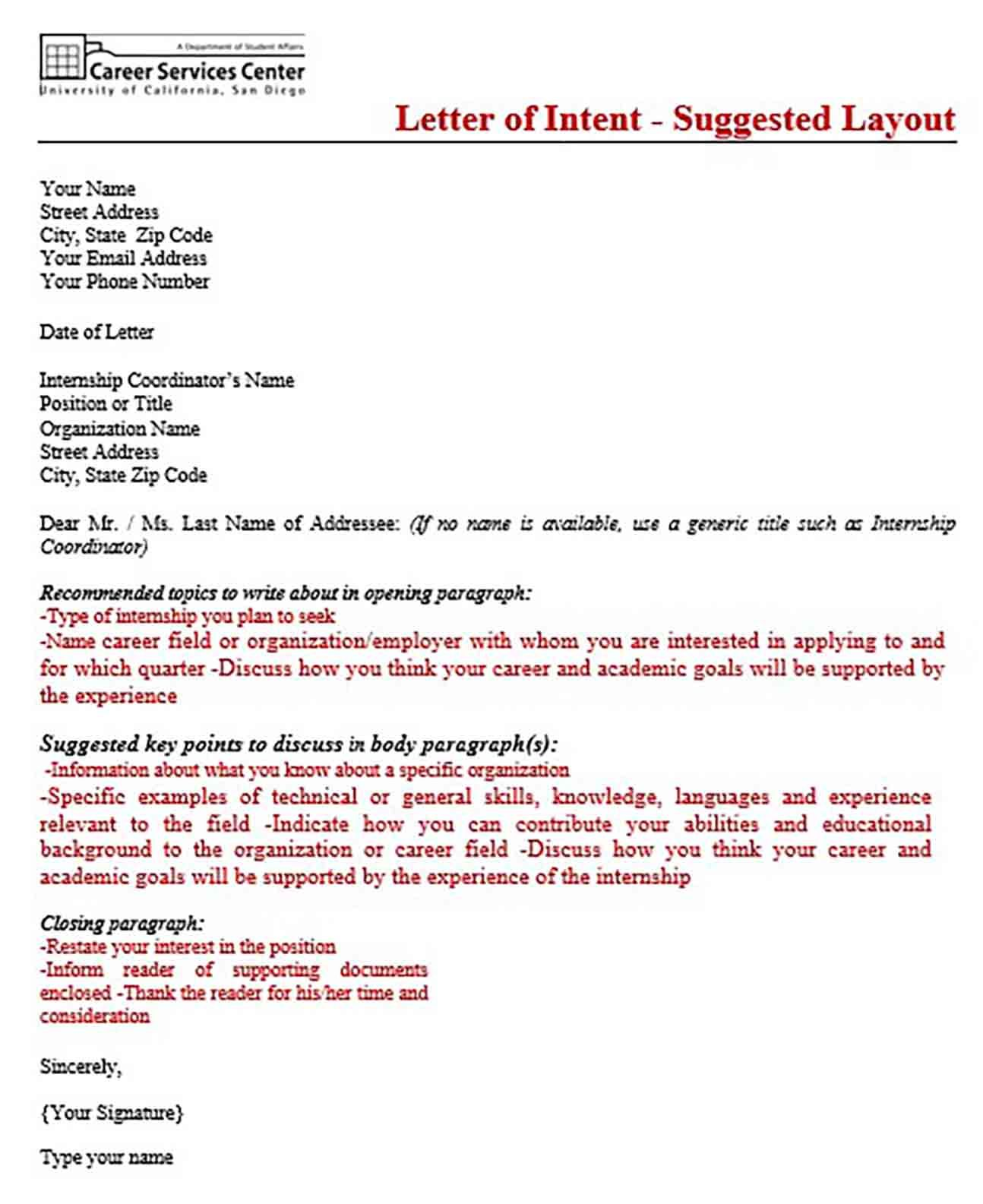 Things to Know About Sample Letter of Intent Graduate