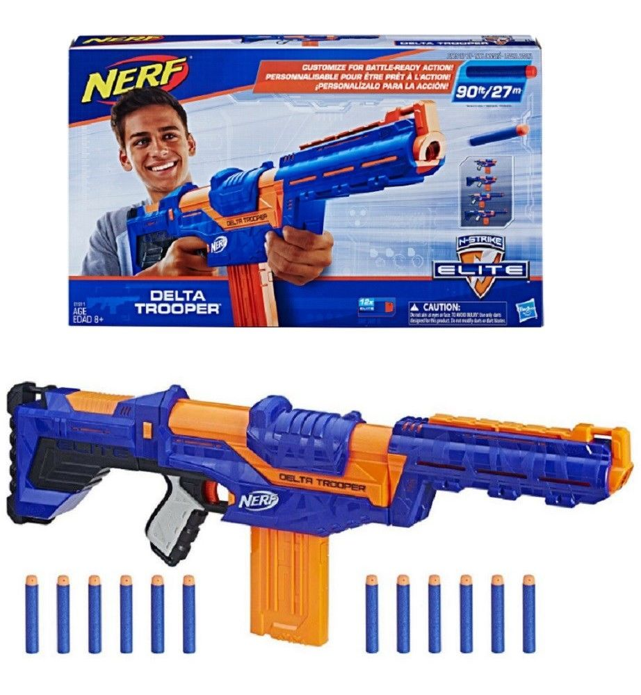 aebbfd109d Outdoor Toys and Structures 11743  Nerf N-Strike Elite Delta Trooper -  BUY  IT NOW ONLY   29.99 on  eBay  outdoor  structures  elite  delta  trooper