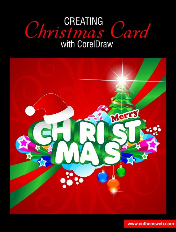 Christmas card design in corel draw coreldraw tutorials christmas card design in corel draw reheart Choice Image