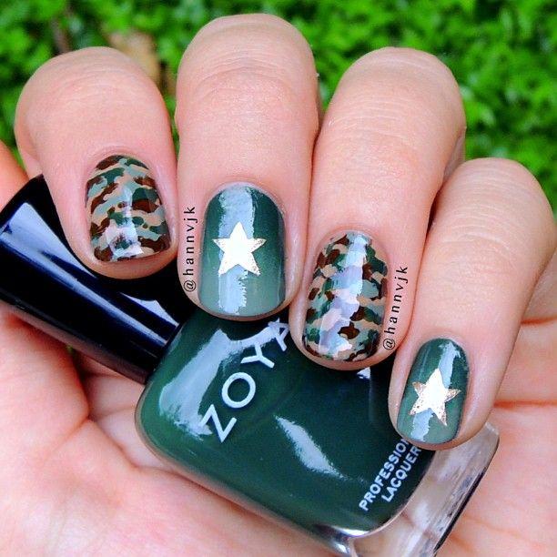 Instagram photo by hannvjk #nail #nails #nailart. Army Nail ArtArmy ... - Instagram Photo By Hannvjk #nail #nails #nailart Expensive Nails