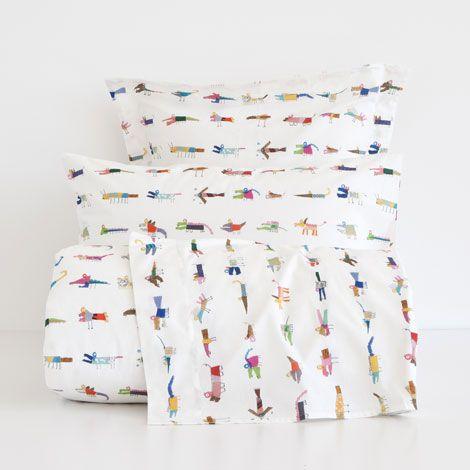 linge de lit imprim crocodile zara home france. Black Bedroom Furniture Sets. Home Design Ideas