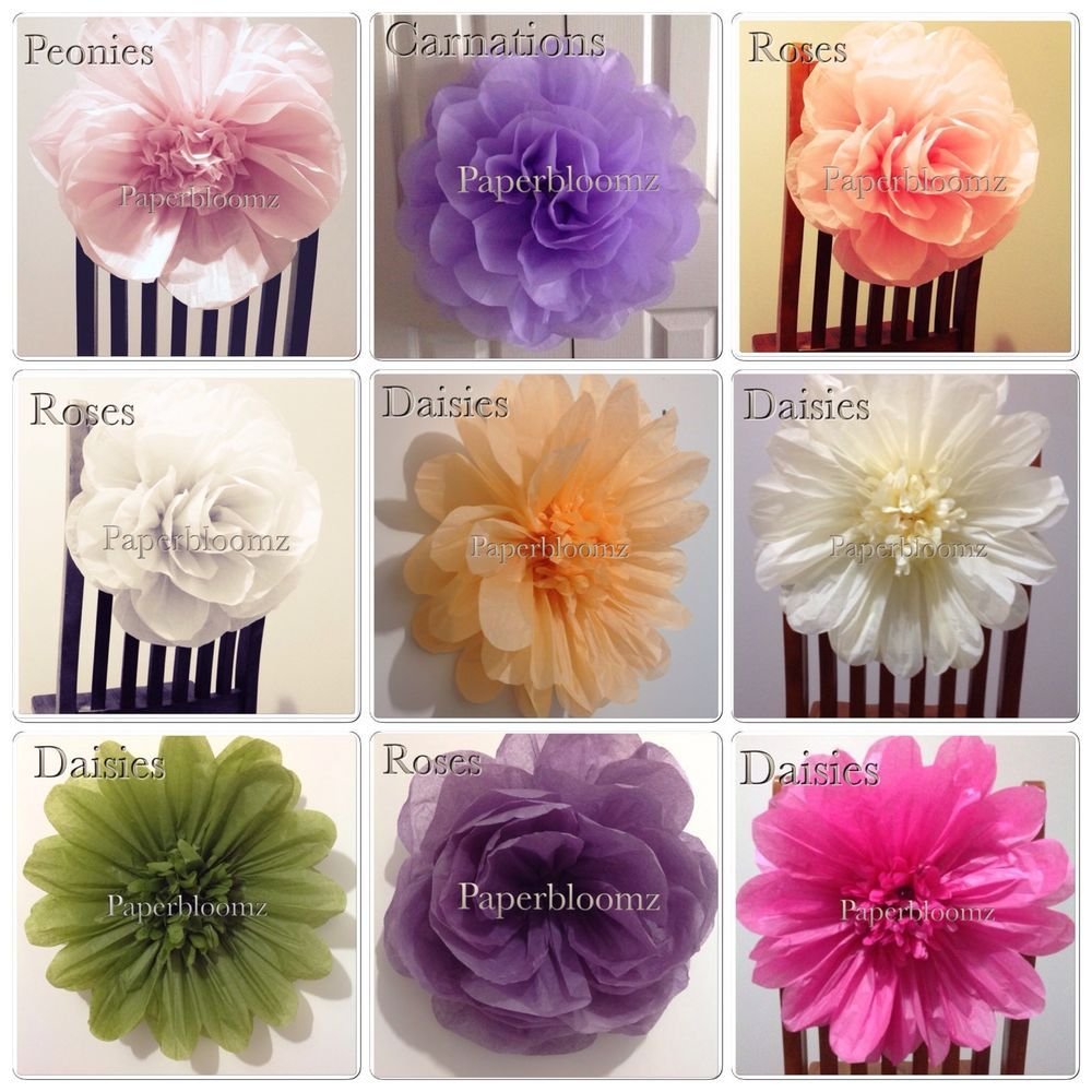 Large Paper Flower Wedding Flowers Backdrops Photo Props Party