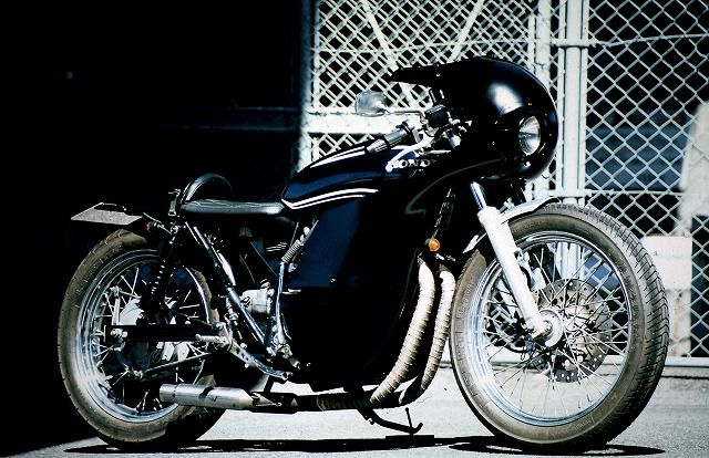 ϟ Hell Kustom ϟ: Honda CB400 By An-Bu