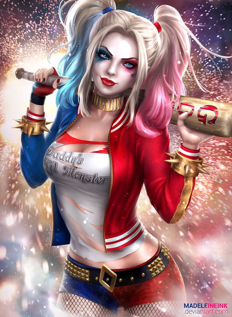 Harley By Madeleineink アメコミ Pinterest Harley Quinn Joker