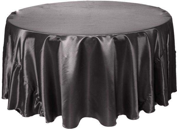Black Satin Tablecloths   $10 15. Tablecloths Are Essential. A Black Satin  Tablecloth