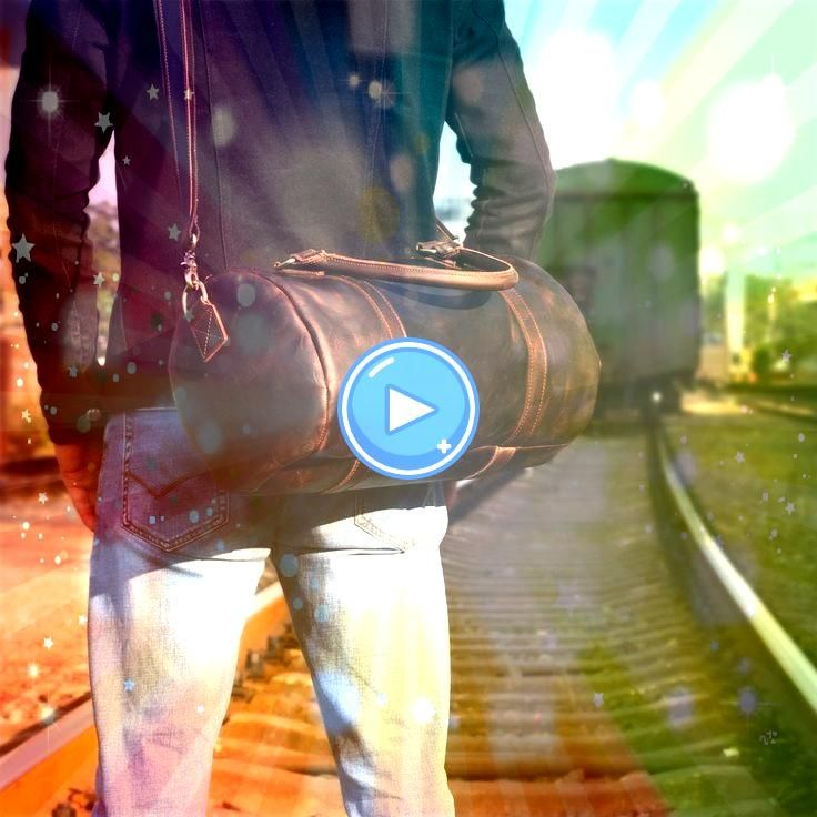 Leather Mens Bucket Bag Cool Weekender Bag Travel Bag Duffle Bags Overnight Bag Holdall Bag for men  Mens Leather Messenger Bags Genuine Leather Mens Bucket Bag Cool Week...