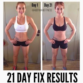 From Flab to Fab!: Women's 21 Day Fix Results - 21 Day Fix Review