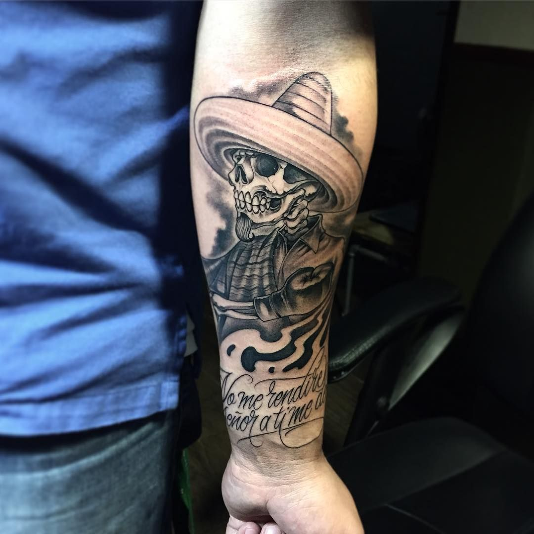 And A Picutre Of The Whole Sleeve I Love The Mexican Culture