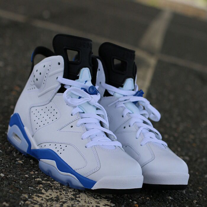 The Nike Air Jordan 6 Sport Blue Is Available At Over 10 Stockists Visit Www Thesolesupplier Co Uk To Get Direct Link Sneakers Fashion Hype Shoes Retro Shoes