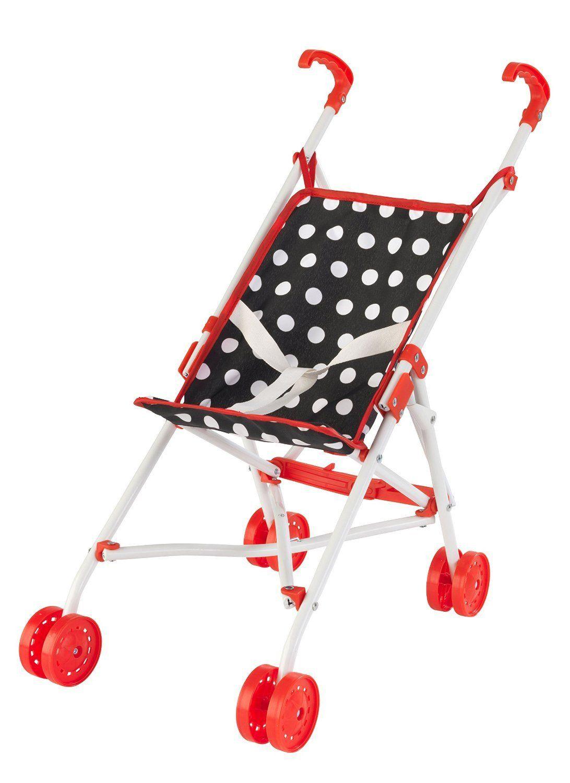 KidKraft 60147 Darling Doll Stroller Red