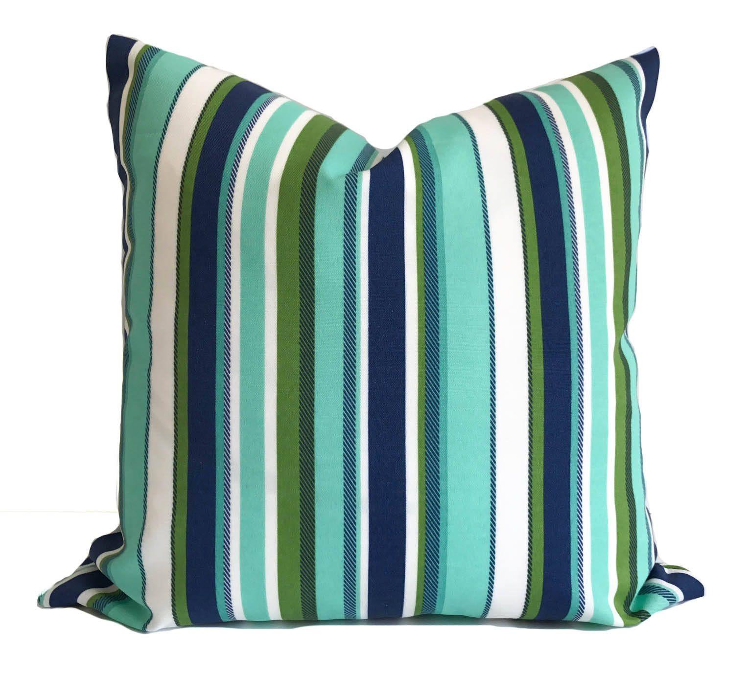 Outdoor Cushion, Patio Cushions, Outdoor Pillow Cover, Blue Outdoor Pillow,  Outdoor Throw