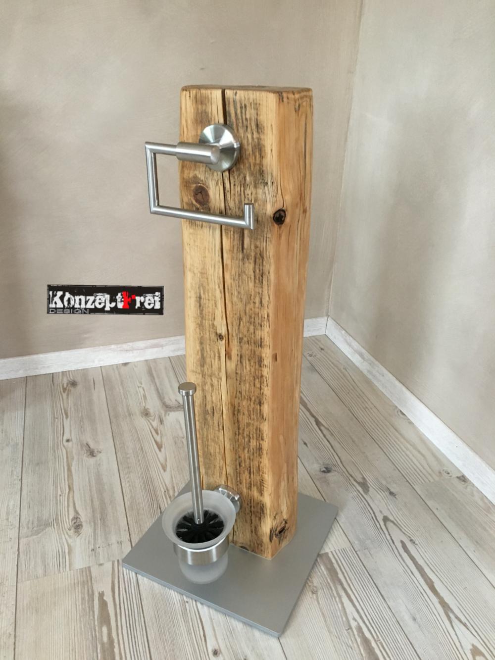 Klopapierhalter WC Garnitur WC Set Bürsten Halter