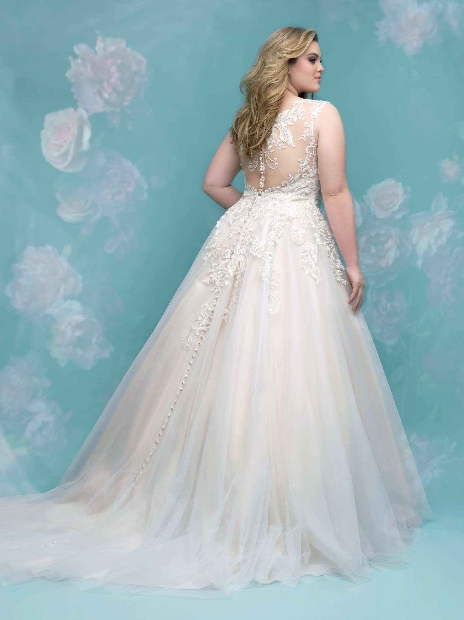 Allure Bridals + size w401, collectie \'women\' grotere maten 2018 ...