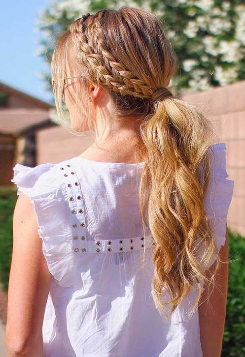 new easy hair styles easy summer hairstyles to wear during days hair 5515 | e4c54166ba5eeb5515b78487e33ad689