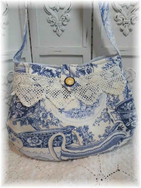 White Antique Victorian Boho Reticule Bag for wedding or party