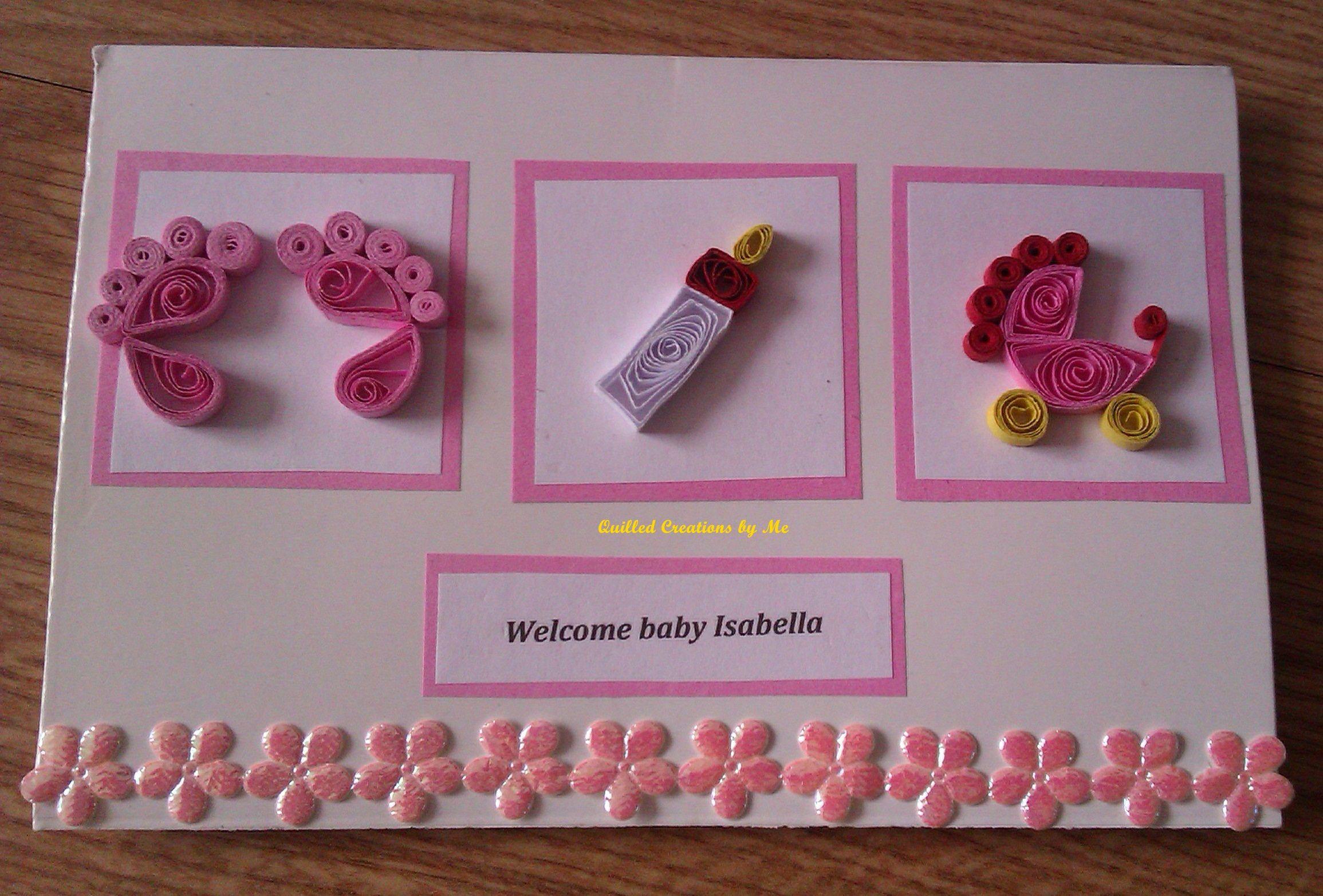 Квиллинг открытки для новорожденного, открытки выходными