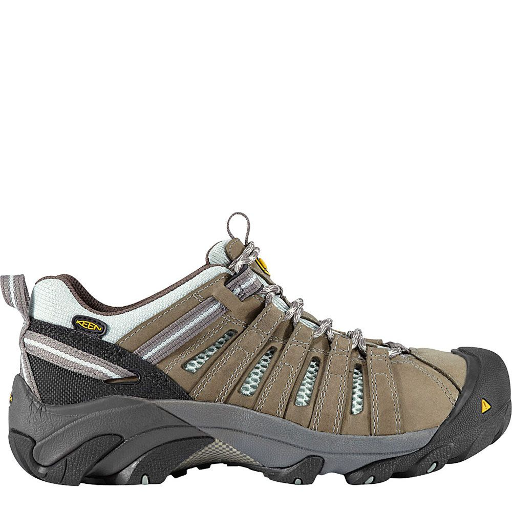 1008823 keen womens flint low safety boots drizzle