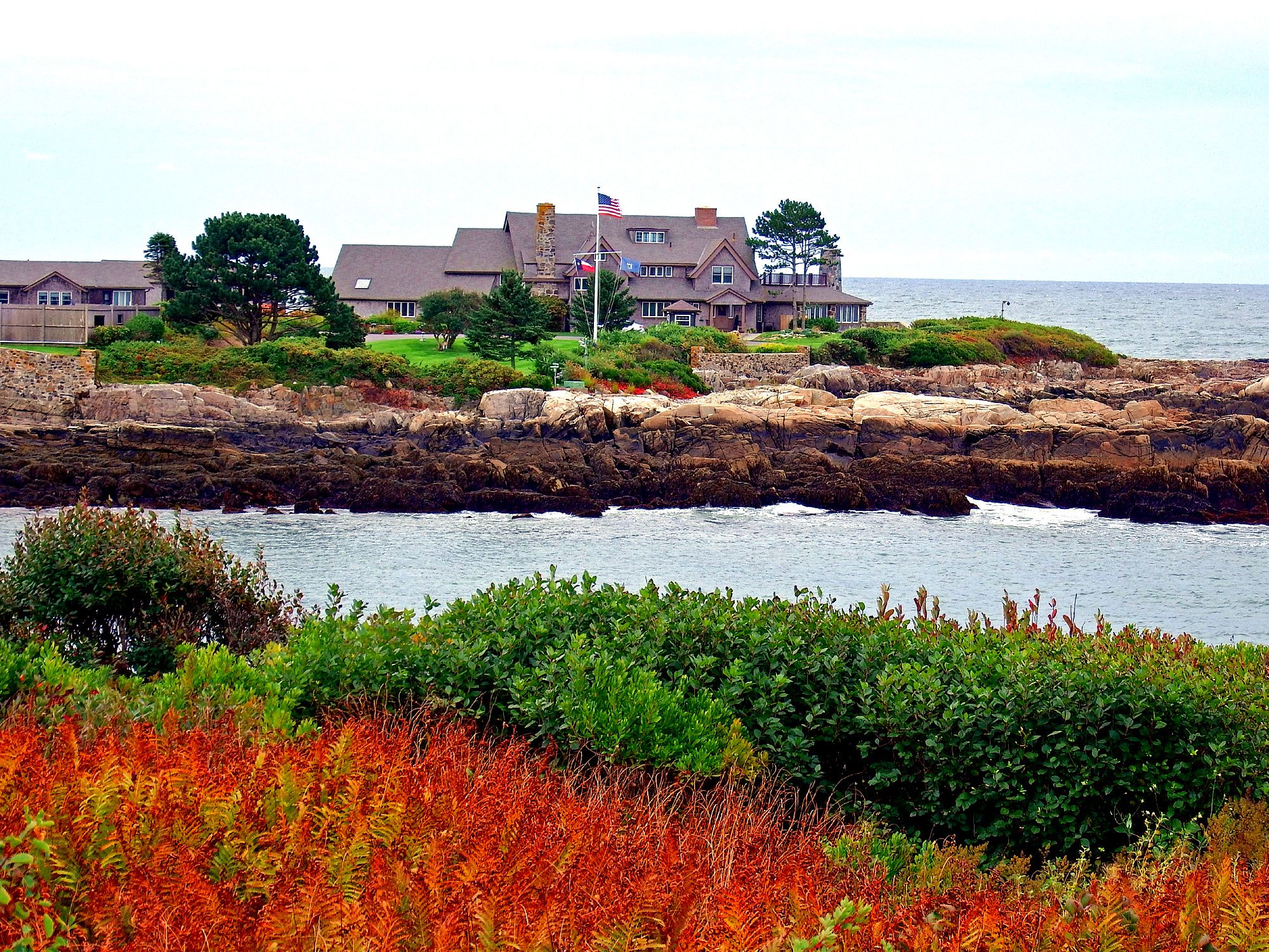 Walkers Point Bush Family Compound Where 41 43 Presidents Play Cribbage Maine Coast