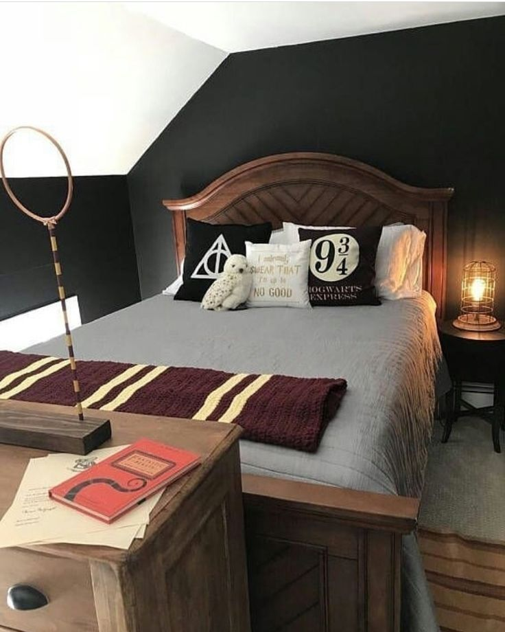 Harry Potter Themed Bedroom Idee Per La Stanza Da Letto Harry