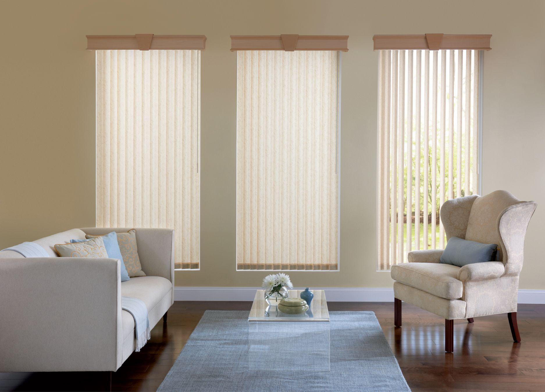 Sheer Curtains Over Vertical Blinds Within Vertical Blinds 3