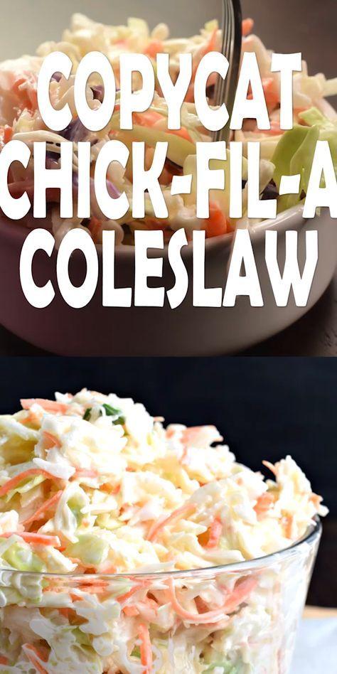 Copycat Chick-fil-A Coleslaw Recipe - Shugary Swee