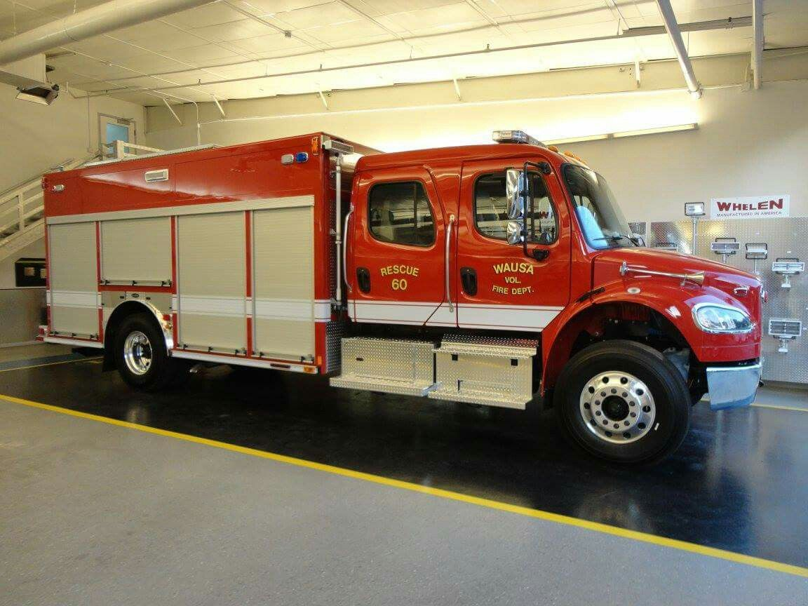 Wausa fire department wausau ne 2012 e one freightliner m2 4dr 18