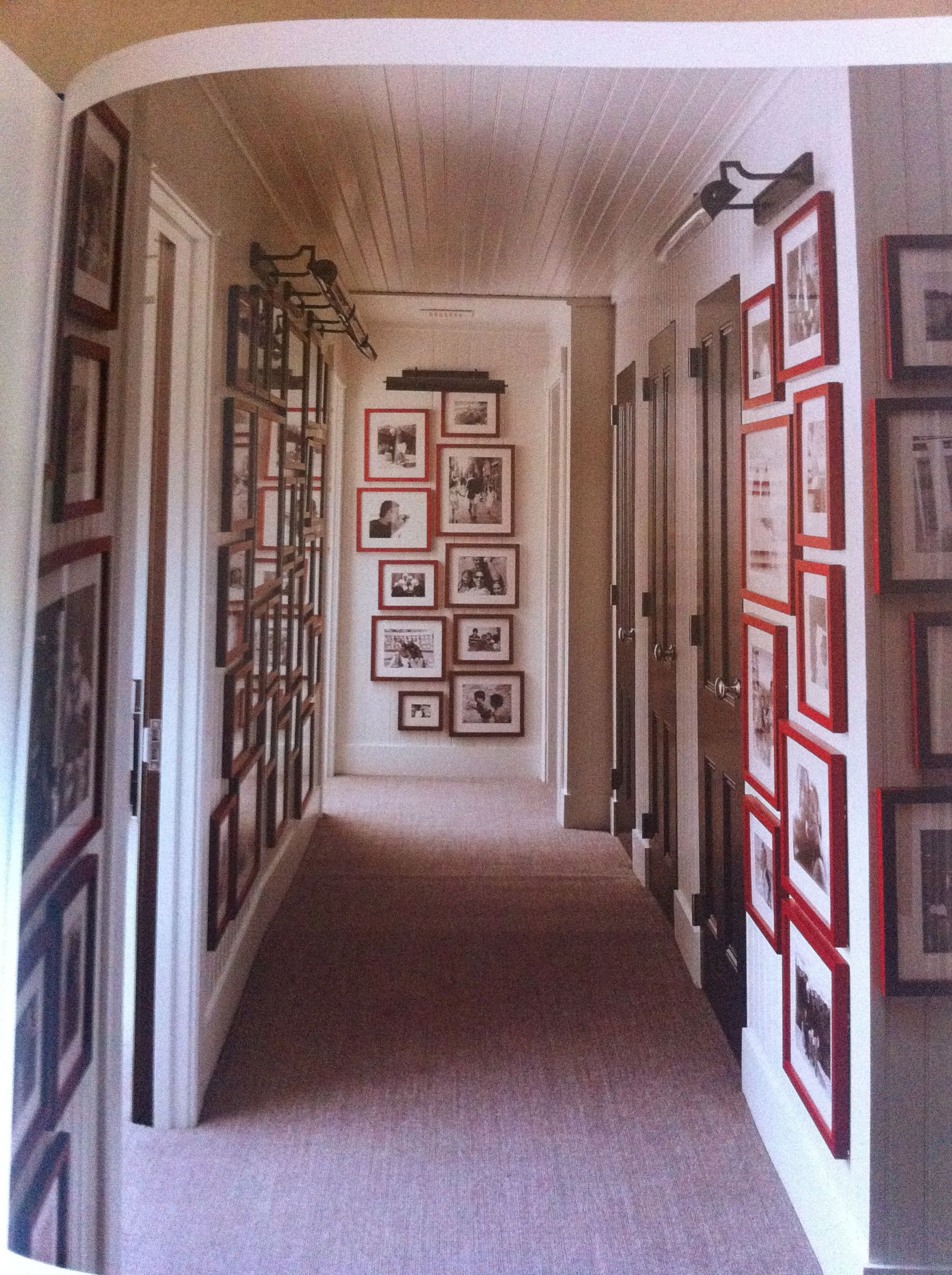 Hanging Family Pictures In Back Hallways