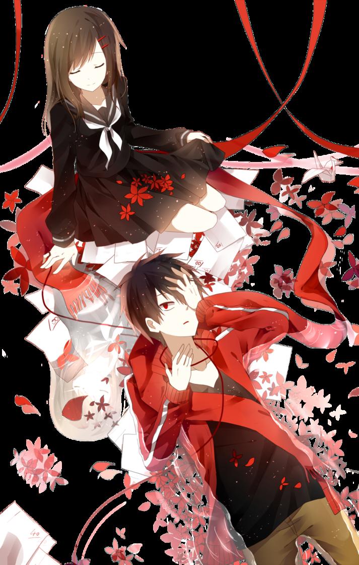 Kisaragi Shintaro and Tateyama Ayano Render by Akiyumi-chan on DeviantArt
