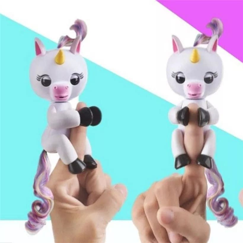 Unicorn Fingerlings With 40 Sound Mode Funny And Interactive Toys