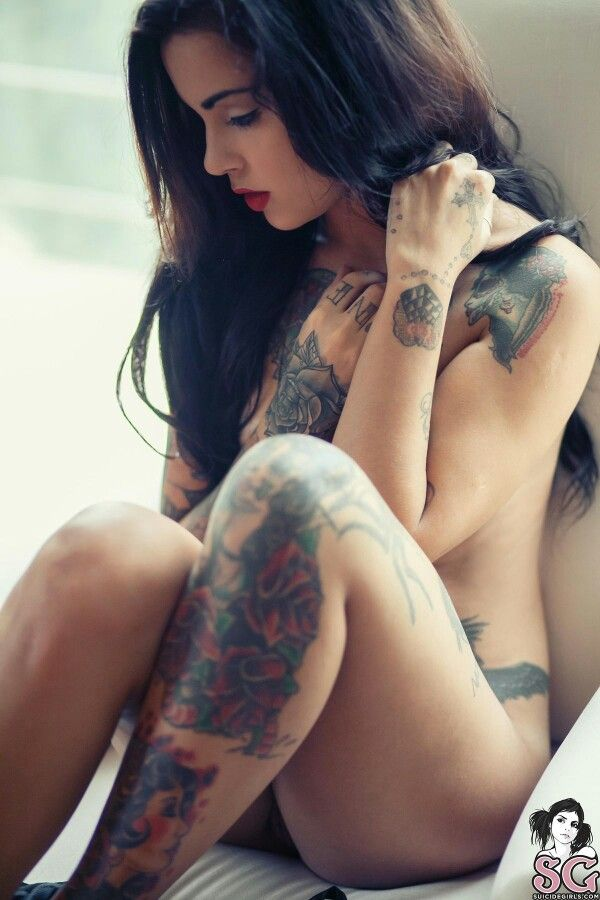 girls tattoos Suicide