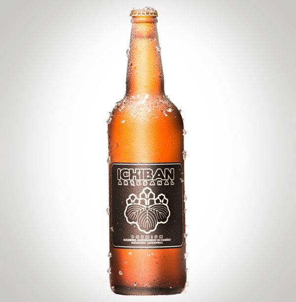 Ichiban Beer | #packaging #bottledesign #beer